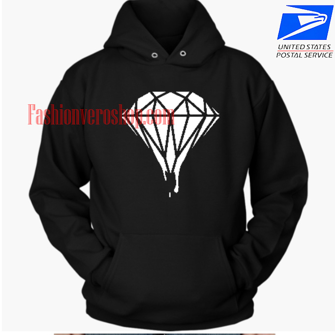 Diamond Melted HOODIE - Unisex Adult Clothing