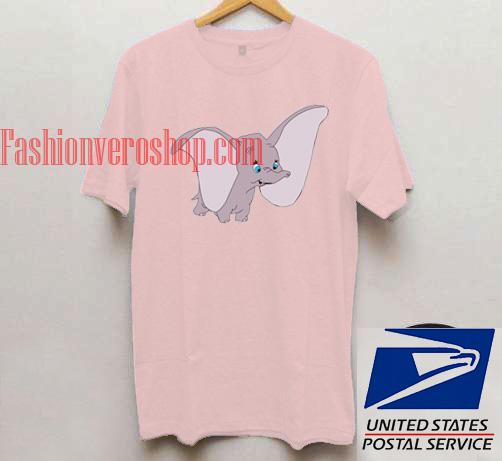 Dumbo Elephant Unisex adult T shirt