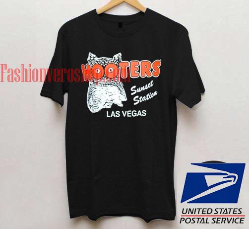 11d613a061ab00 Hooters Las Vegas Unisex adult T shirt – fashionveroshop