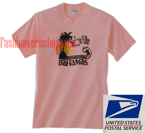 Bahamas t shirts adult