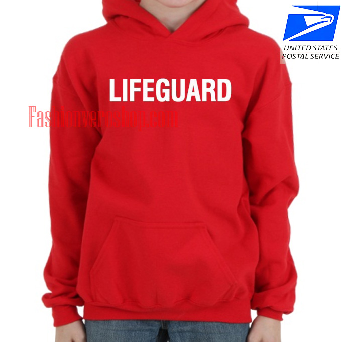 Lifeguard HOODIE - Unisex Adult Clothing