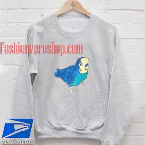 Parakeet Bird Sweatshirt