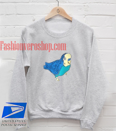Parakeet Bird Sweatshirt