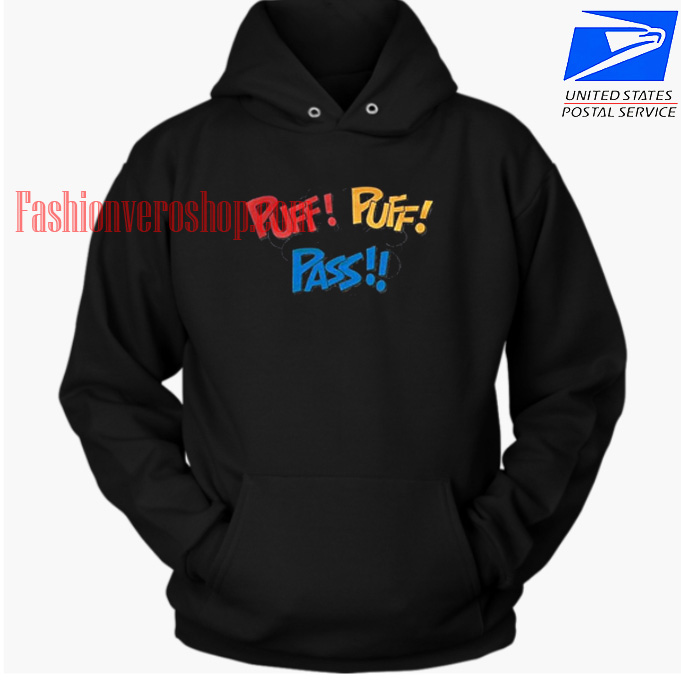 Puff Puff Pass HOODIE - Unisex Adult Clothing