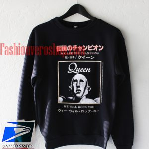 Queen We Will Rock You Sweatshirt