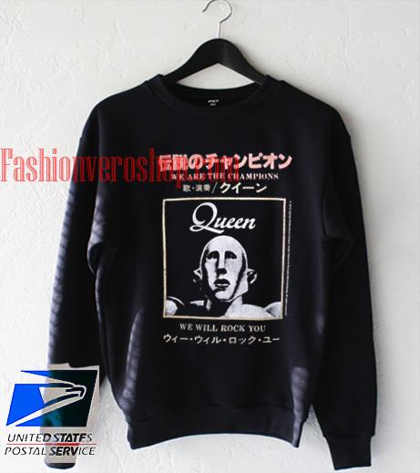 Queen We Will Rock You Sweatshirt