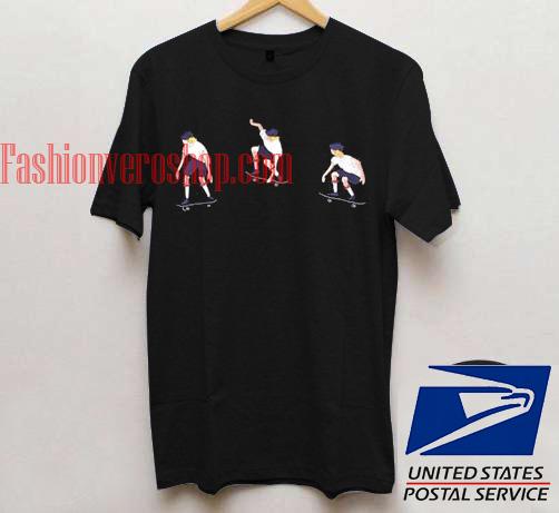 Skate Boy Unisex adult T shirt