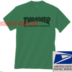 Thrasher Green Unisex adult T shirt