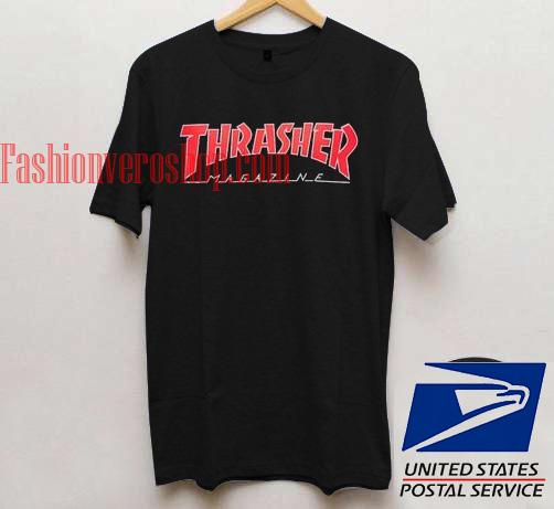 57fbc07b28d0 Thrasher Magazine Red Logo Unisex adult T shirt