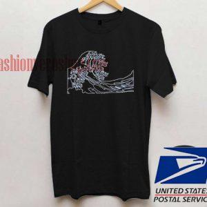 Tsunami Wave Costeras Unisex adult T shirt