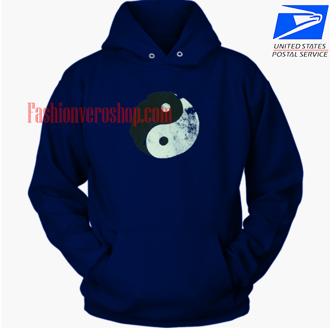 Yin Yang Logo HOODIE - Unisex Adult Clothing