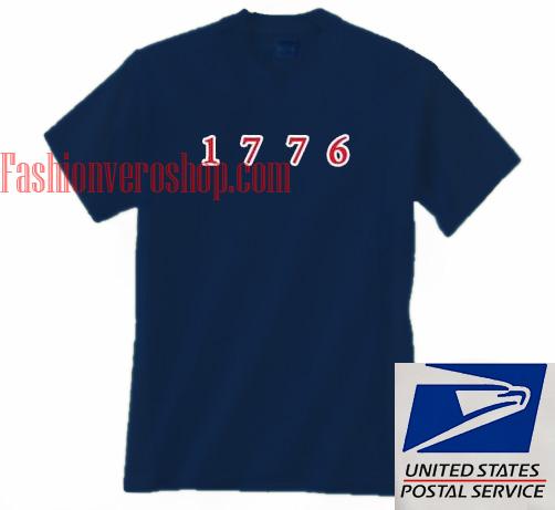 1776 Unisex adult T shirt