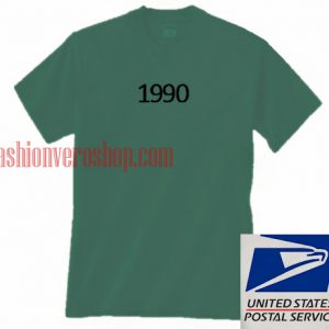 1990 Green Unisex adult T shirt