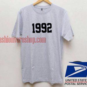 1992 Unisex adult T shirt