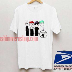 5 Seconds Of Summer Unisex adult T shirt