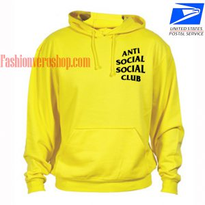 Anti Social Social Club HOODIE Unisex Adult Clothing