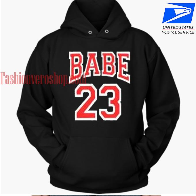 Babe 23 HOODIE - Unisex Adult Clothing