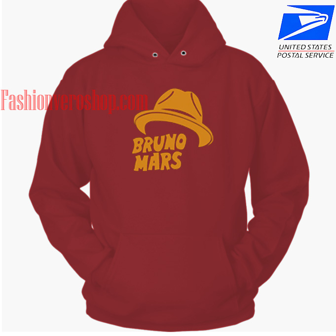 Bruno Mars Hat HOODIE - Unisex Adult Clothing