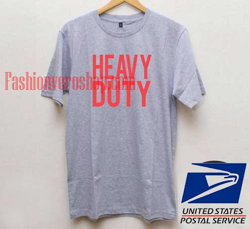Heavy duty unisex adult t shirt for Heavy duty work t shirts