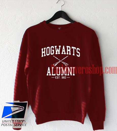 Hogwarts Alumni Harry Potter Sweatshirt