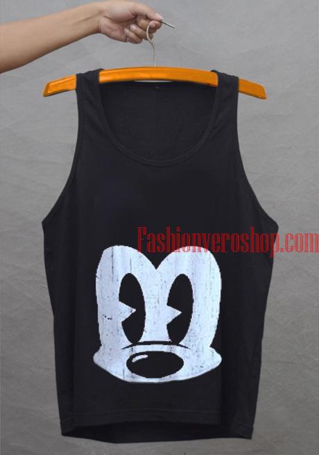 6f2976e3697e36 Mickey Mouse Face Tank top