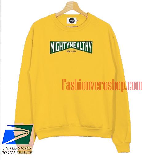 Mightyhealty New York Sweatshirt