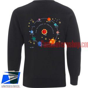 Planets Solar Sweatshirt