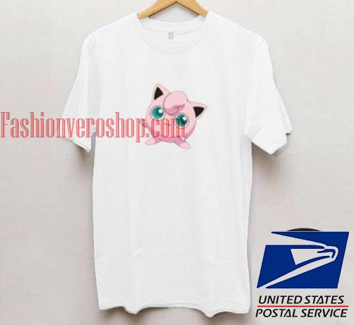 ff120f6d Pokemon Jigglypuff Unisex adult T shirt