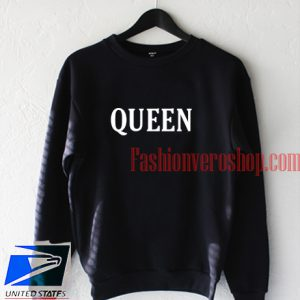 Queen Black Sweatshirt
