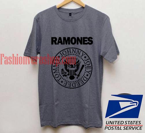 Ramones Unisex adult T shirt