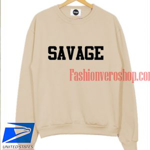 Savage Light Brown Sweatshirt