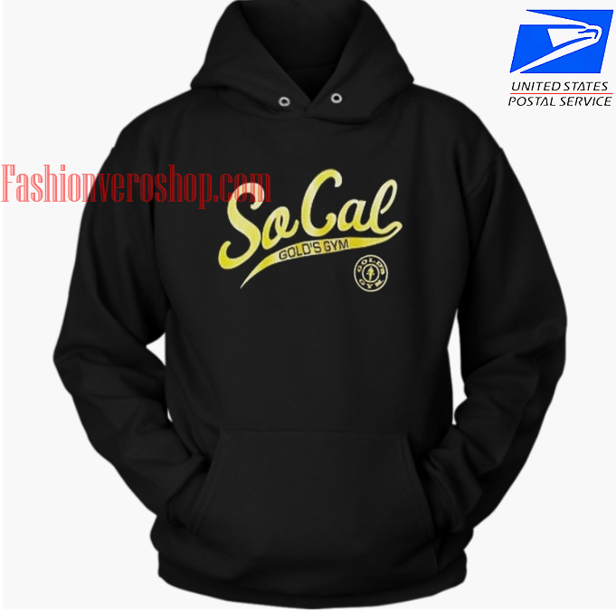 So Cal Clothing >> Socal Golds Gym Hoodie Unisex Adult Clothing