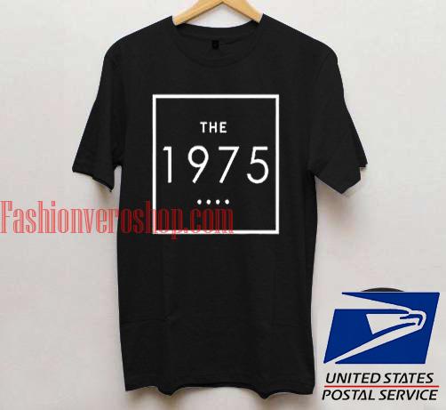 The 1975 Black Unisex adult T shirt