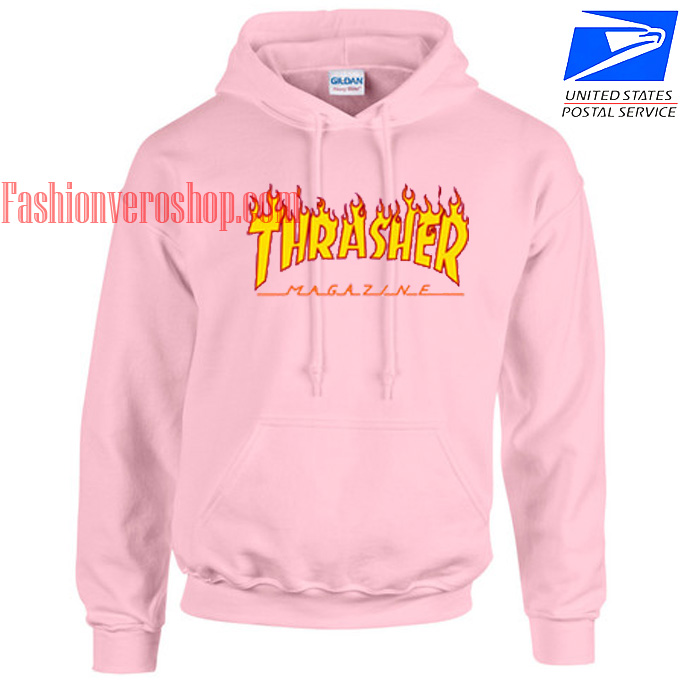 Thrasher Fire HOODIE - Unisex Adult Clothing