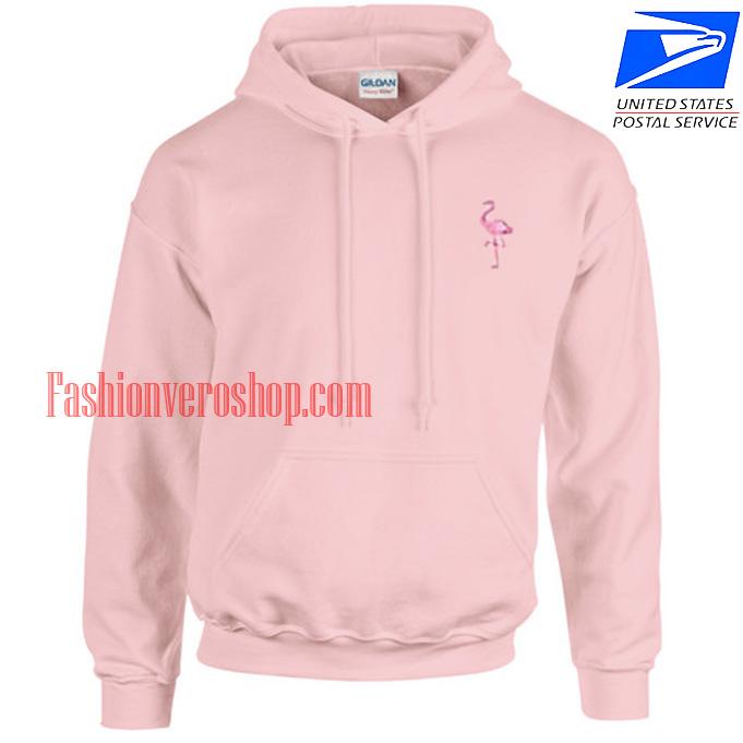 Tiny Flamingo HOODIE - Unisex Adult Clothing