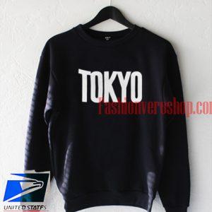 Tokyo Black Sweatshirt