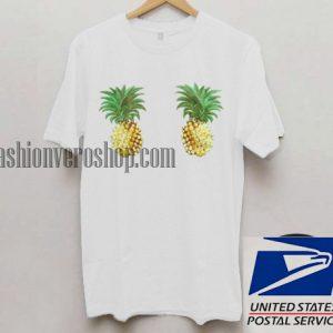 Twin Pineapple Unisex adult T shirt
