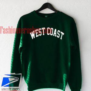 West Coast Green Sweatshirt