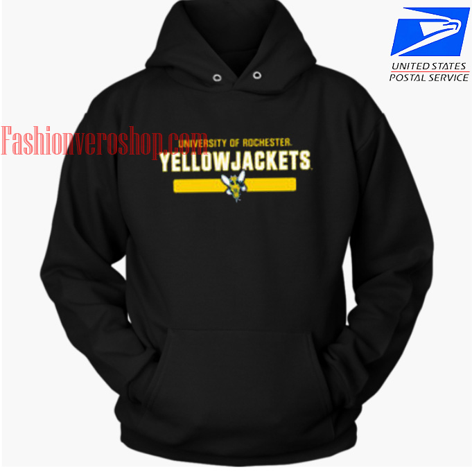 University Of Rochester Yellow Jackets HOODIE - Unisex Adult Clothing