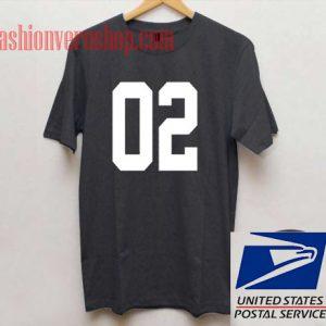 02 Unisex adult T shirt