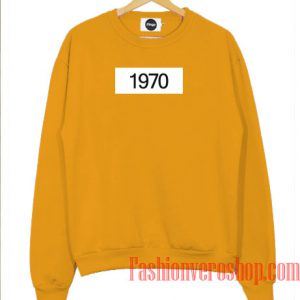 1970 Box Sweatshirt