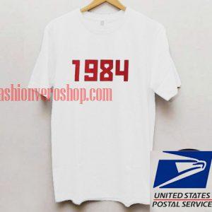 1984 Vintage Unisex adult T shirt