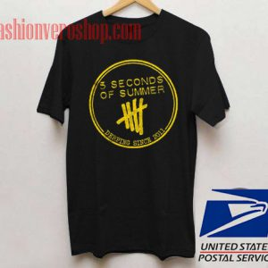 5 Second Of Summer Since 2011 Unisex adult T shirt