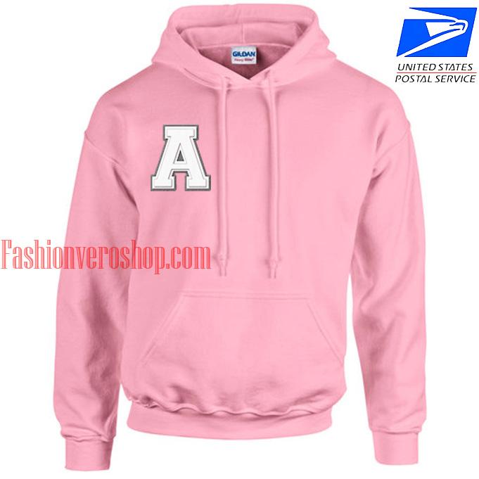 Alphabets HOODIE - Unisex Adult Clothing