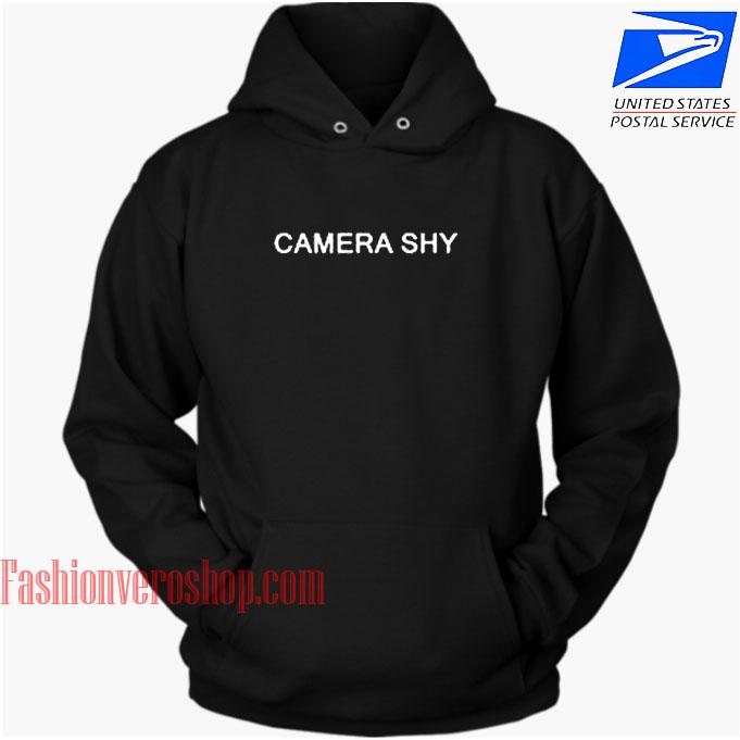 Camera Shy HOODIE - Unisex Adult Clothing