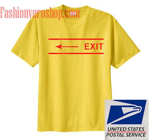 Exit Arrow Unisex adult T shirt