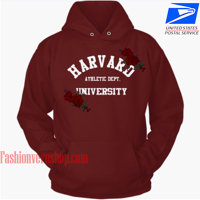 Harvard University Athletic Dept HOODIE - Unisex Adult Clothing