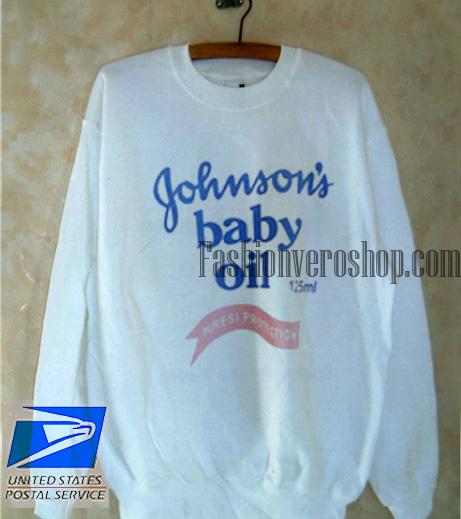 4d8624540 Johnson's Baby Oil Sweatshirt