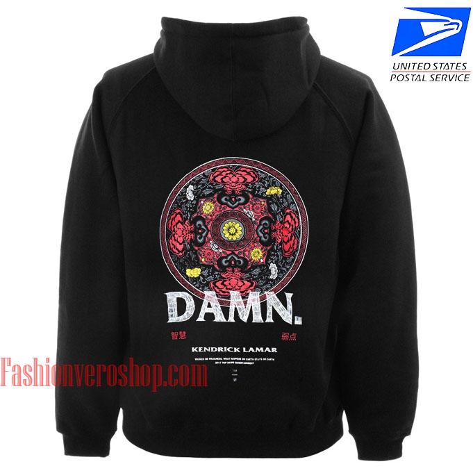 kendrick lamar damn hoodie unisex adult clothing