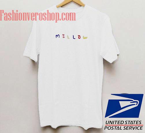 Mellow Unisex adult T shirt